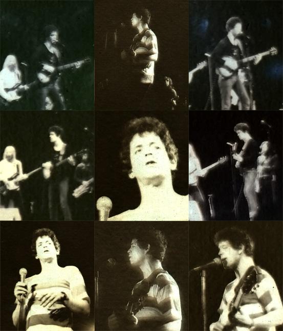 Lou Reed, Adelaide, Nov 1977